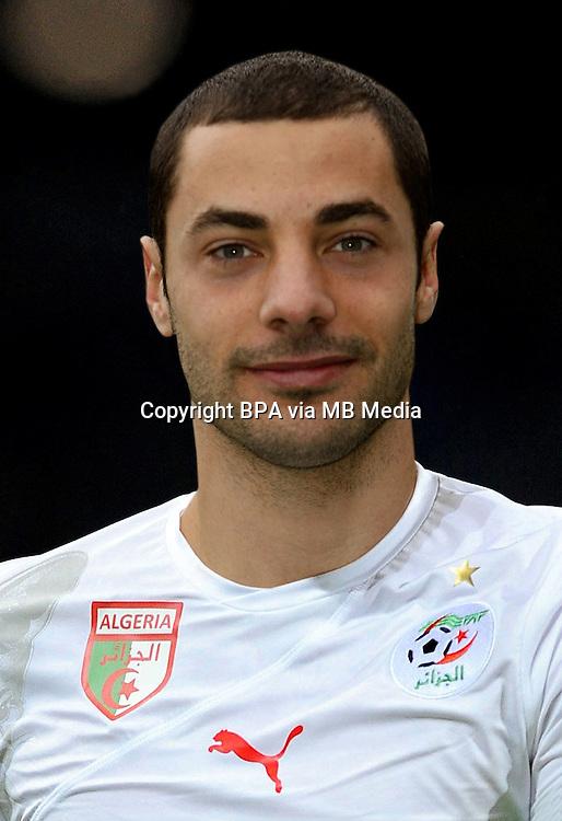 Football Fifa Brazil 2014 World Cup / <br /> Algeria National Team - <br /> Mehdi Lacen of Algeria
