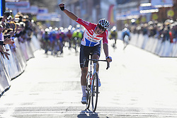 March 24, 2019 - Denain, France - VAN DER POEL Mathieu (NED) of CORENDON - CIRCUS celebrates the win (Credit Image: © Panoramic via ZUMA Press)