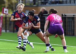 Clara Nielson of Bristol Bears Women - Mandatory by-line: Paul Knight/JMP - 28/09/2019 - RUGBY - Shaftesbury Park - Bristol, England - Bristol Bears Women v Loughborough Lightning  - Tyrrells Premier 15s