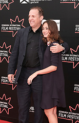 Edinburgh International Film Festival, Friday 30th June 2017<br /> <br /> ACCESS ALL AREAS (WORLD PREMIERE)<br /> <br />  Actors Nigel Lindsay and Ella Purnell<br /> <br /> (c) Alex Todd | Edinburgh Elite media