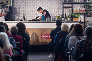 Monique Fiso presents a a cooking demonstration at the Food Show at Westpac Stadium in Wellington on Saturday the 25 May 2019. Copyright Photo by Marty Melville / www.Photosport.nz