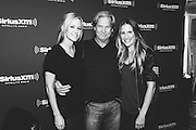 Photos of Jeff Bridges with Martie Maguire and Emily Robison of the Dixie Chicks visiting the SiriusXM Studios on July 16, 2013 in New York City. Copyright © 2013. Matthew Eisman. All Rights Reserved