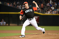 PHOENIX, AZ - AUGUST 27:  Patrick Corbin #46 of the Arizona Diamondbacks delivers a pitch against the San Francisco Giants at Chase Field on August 27, 2017 in Phoenix, Arizona.  (Photo by Jennifer Stewart/Getty Images)
