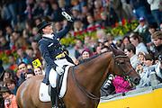 Isabell Werth - Don Johnson<br /> FEI European Championships Aachen 2015<br /> © DigiShots