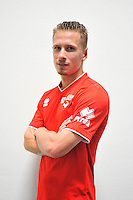 Jonathan PARPEIX - 16.09.2014 - Photo officielle Nimes - Ligue 2 2014/2015<br /> Photo : Icon Sport
