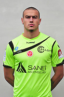 Sacha Bastien - 21.10.2014 - Photo officielle Reims - Ligue 1 2014/2015<br /> Photo : Philippe Le Brech / Icon Sport