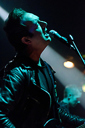 © Licensed to London News Pictures. 06/05/2012. London, UK. Glasvegas perform live at KOKO during the final night of the two day music festival The Camden Crawl.  Photo credit : Richard Isaac/LNP