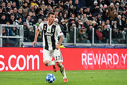 November 27, 2018 - Turin, Piedmont/Turin, Italy - Mario Mandzukic of Juventus during the Champions League match Juventus vs Valencia. Juventus won 1-0 at Allianz Stadium in Turin on the 27th november 2018  (Credit Image: © Alberto Gandolfo/Pacific Press via ZUMA Wire)