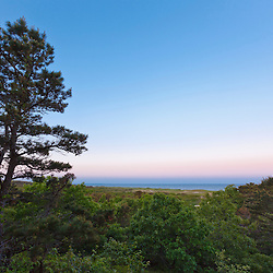 View of Massachusetts Bay from the Biddle property in Wellfleet, Massachusetts. Now part of Cape Cod National Seashore.
