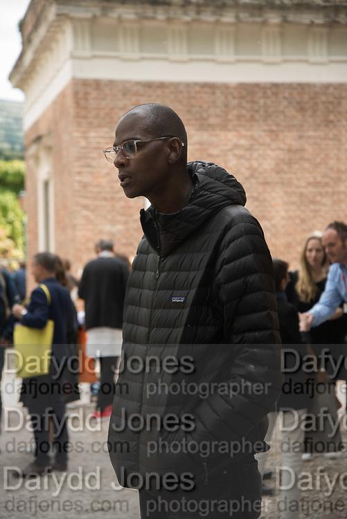 Mark Bradford, American Pavilion, , Venice Biennale, 10 May 2017