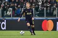 Juventus v Tottenham 13 Feb 2018
