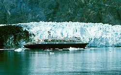 AK: Glacier Bay National Park, Alaska, Margerie Glacier    .Photo Copyright: Lee Foster, lee@fostertravel.com, www.fostertravel.com, (510) 549-2202.Image: akglac210