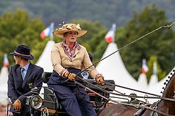 Harm Mareike, GER, Amicello, Luxus Boy, Quebec Sautreuil, Zazou 30<br /> CHIO Aachen 2019<br /> Weltfest des Pferdesports<br /> © Hippo Foto - Dirk Caremans<br /> Harm Mareike, GER, Amicello, Luxus Boy, Quebec Sautreuil, Zazou 30
