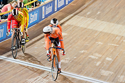 , ESP, NED, Sprint FInals, 2015 UCI Para-Cycling Track World Championships, Apeldoorn, Netherlands