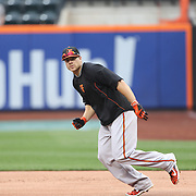 Chris Davis, Baltimore Orioles, during batting practice before the New York Mets Vs Baltimore Orioles MLB regular season baseball game at Citi Field, Queens, New York. USA. 5th May 2015. Photo Tim Clayton
