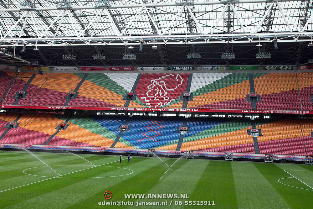 NLD/Amsterdam20140324 - Leeg Ajax stadion