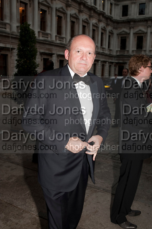 MICHAEL SPENCER, Triennial Summer Ball, Royal Academy. Piccadilly. London. 20 June 2011. <br /> <br />  , -DO NOT ARCHIVE-© Copyright Photograph by Dafydd Jones. 248 Clapham Rd. London SW9 0PZ. Tel 0207 820 0771. www.dafjones.com.