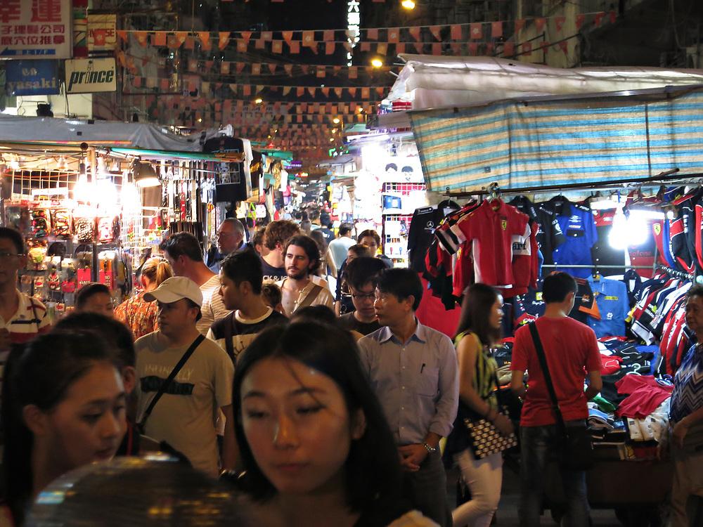 Temple Market Kowloon, Hong Kong, China; September, 2013.