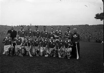 Interprovincial Railway Cup Hurling Final,.Munster v Leinster, .Munster.17.03.1960, 03.17.1960, 17th March 1960,