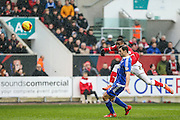 Bristol City's Jonathan Kodjia shoots at goal  during the Sky Bet Championship match between Bristol City and Ipswich Town at Ashton Gate, Bristol, England on 13 February 2016. Photo by Shane Healey.