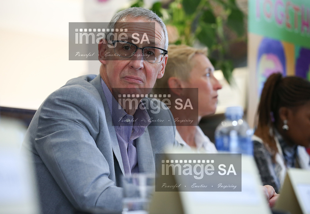 CAPE TOWN, SOUTH AFRICA - Wednesday 30 November 2016, Dr Carl W Dieffenbach, Director of the Division of AIDS in the United States National Institute for Allergy and Infectious Diseases during the launch of a major study to test the efficacy of a vaccine to prevent HIV infection at the Emavundleni Research Centre in Old Crossroads, Cape Town. With more than 1 000 people in South Africa becoming infected with HIV each day, a successful HIV vaccine is seen as the key to ending the epidemic. This new preventive vaccine efficacy trial, called HVTN 702, is a critically important study and its start is a special moment in HIV research. HVTN 702 is the only current HIV vaccine efficacy trial in the world and is being conducted solely in South Africa. It has been seven years since the world last saw the start of an efficacy trial of an HIV vaccine. The South African study will test a modified form of the vaccine regimen used in RV144, a trial conducted in Thailand, which reported in 2009 that the candidate vaccine was 31.2% effective in preventing new HIV infections 3.5 years after first vaccination. HVTN 702 builds on the foundation of the promising Thai trial findings and seeks to increase the level of efficacy and durability of the vaccine response. If HVTN 702 is shown to be effective against new infections, this South African trial could lead to the licensing of the world&rsquo;s first HIV vaccine.<br /> Photo by Roger Sedres/ImageSA