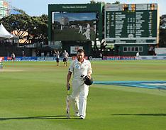 Wellington-Cricket, New Zealand v India, 2nd test, February 17