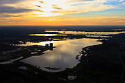 Nederland, Noord-Brabant, Cuijk, 15-11-2010; Watersportgebied de Kraaijenbergse Plassen. Water sports area the raaijenbergse Plassen. .luchtfoto (toeslag), aerial photo (additional fee required).foto/photo Siebe Swart