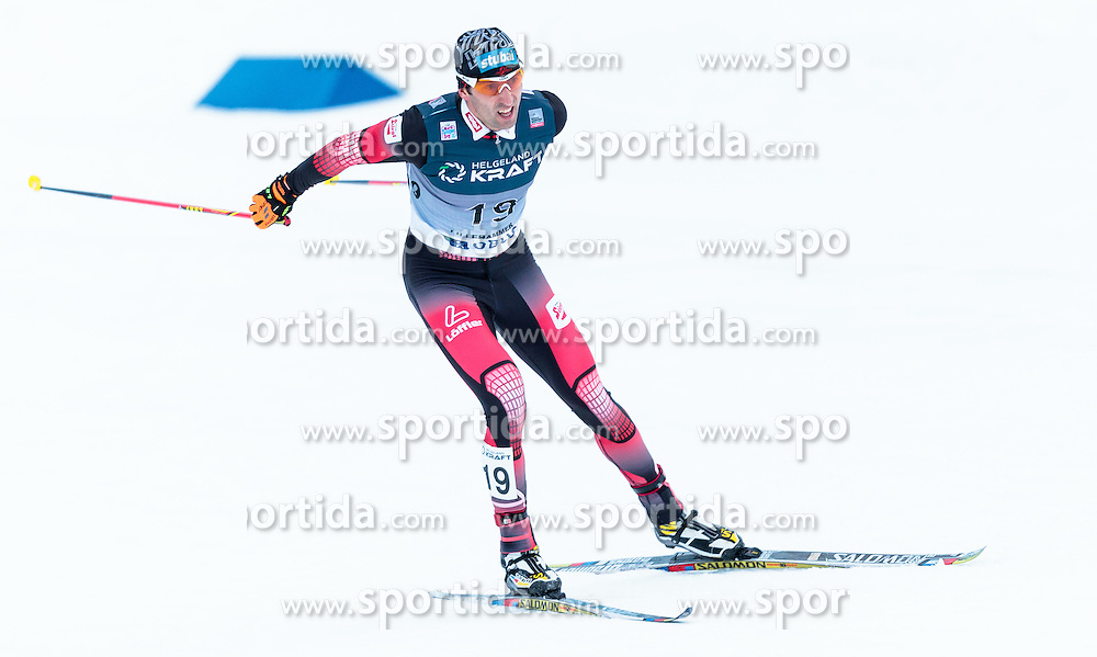 05.12.2015, Nordic Arena, NOR, FIS Weltcup Nordische Kombination, Lillehammer, Langlauf, im Bild Wilhelm Denifl (AUT) // Wilhelm Denifl of Austria during Cross Country Competition of FIS Nordic Combined World Cup at the Nordic Arena, Lillehammer, Norway on 2015/12/05. EXPA Pictures © 2015, PhotoCredit: EXPA/ JFK