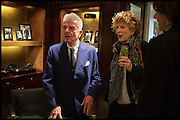 NICKY HASLAM; PENNY GRAHAM, Ralph Lauren host launch party for Nicky Haslam's book ' A Designer's Life' published by Jacqui Small. Ralph Lauren, 1 Bond St. London. 19 November 2014