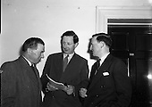 1955 Federation of Irish Manufacturers Annual General Meeting