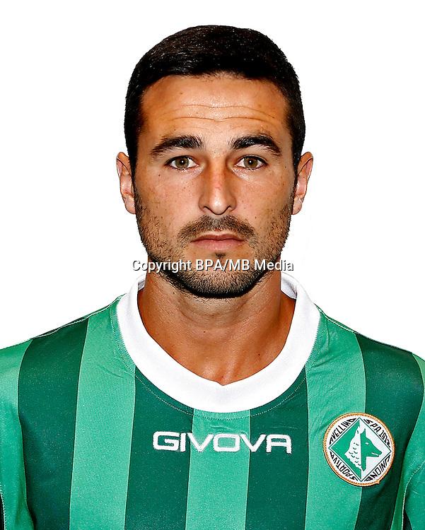 Italian League Serie B -2016-2017 / <br /> ( U. S. Avellino 1912 ) - <br /> Alejandro Damian Gonzalez Hernandez