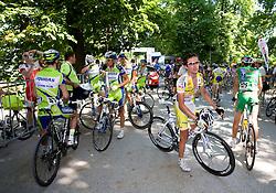 Luca Zanasca (ITA) of Centri della Calzatura after 2nd stage of Tour de Slovenie 2009 from Kamnik to Ljubljana, 146 km, on June 19 2009, Slovenia. (Photo by Vid Ponikvar / Sportida)