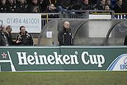 Wycombe, GREAT BRITAIN, Wasps coach Shaun EDWARDS, during the Heineken Cup game Wasps vs Llanelli Scarlets, at Adams Park Stadium, Bucks, 13.01.2008 [Photo, Peter Spurrier/Intersport-images