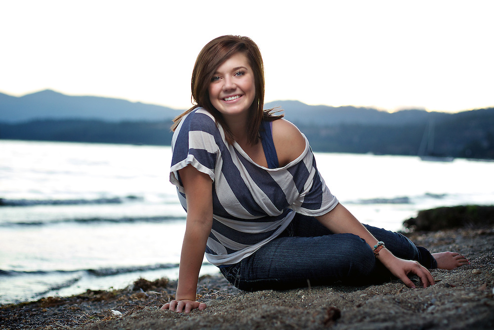 Senior portrait session for Taylor Franks held Saturday, Sept. 24, 2011 in Coeur d'Alene, Idaho.