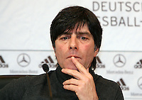 FUSSBALL   INTERNATIONAL   SAISON 2007/2008  Bundestrainer Joachim LOEW anlaesslich der DFB Pressekonferenz am in Hannover