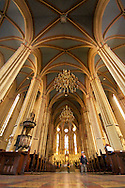 Inside perspective of Zagreb's Cathedral