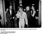 Prince arriving  at Steve Tisch &  Vanity Fair's Oscar Night Party,<br />Mortons,  Los Angeles. March 1994.  Film 94568/26<br /> <br />© Copyright Photograph by Dafydd Jones<br />66 Stockwell Park Rd. London SW9 0DA<br />Tel 0171 733 0108.