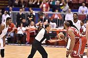 DESCRIZIONE : Milano Lega A 2014-15 <br /> EA7 Olimpia Milano - Acea Virtus Roma <br /> GIOCATORE : Samardo Samuels Ndudi Ebi<br /> CATEGORIA : arbitro pregame pre game palla a due <br /> SQUADRA : EA7 Olimpia Milano<br /> EVENTO : Campionato Lega A 2014-2015 <br /> GARA : EA7 Olimpia Milano - Acea Virtus Roma<br /> DATA : 12/04/2015<br /> SPORT : Pallacanestro <br /> AUTORE : Agenzia Ciamillo-Castoria/GiulioCiamillo<br /> Galleria : Lega Basket A 2014-2015  <br /> Fotonotizia : Milano Lega A 2014-15 EA7 Olimpia Milano - Acea Virtus Roma
