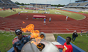Houston ISD students participate in a district wide field day at Barnett Stadium, May 1, 2015.