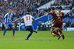 Goal, Anthony Knockaert of Brighton & Hove Albion scores, Brighton & Hove Albion 3-0 Queens Park Rangers - Mandatory by-line: Jason Brown/JMP - 27/12/2016 - FOOTBALL - Amex Stadium - Brighton, England - Brighton & Hove Albion v Queens Park Rangers - Sky Bet Championship