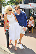 pixie lott and olive cheshire on the Croisette during the sixty ninth film festival cannes Monday, May 16, 2016<br /> ©Exclusivepix Media
