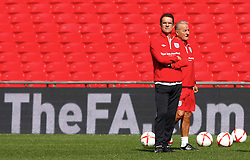 02.09.2010, Wembley Stadion, London, ENG, Training Nationalmannschaft England, im Bild Fabio Capello Head Coach ( Manager ) of England, EXPA Pictures © 2010, PhotoCredit: EXPA/ IPS *** ATTENTION *** UK AND FRANCE OUT! / SPORTIDA PHOTO AGENCY