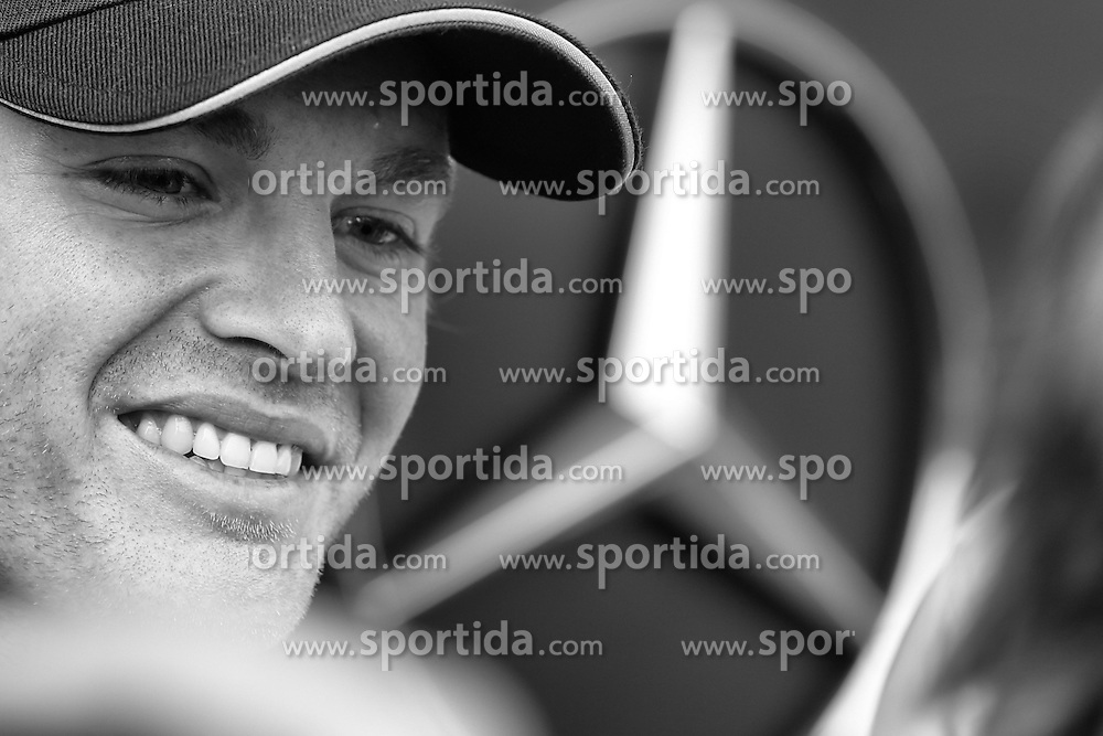 03.07.2014, Silverstone Circuit, Silverstone, ENG, FIA, Formel 1, Grand Prix von Grossbritannien, Vorberichte, im Bild Nico Rosberg (GER) Mercedes AMG F1 // during the preperation of British Formula One Grand Prix at the Silverstone Circuit in Silverstone, Great Britain on 2014/07/03. EXPA Pictures &copy; 2014, PhotoCredit: EXPA/ Sutton Images/ Lavadinho<br /> <br /> *****ATTENTION - for AUT, SLO, CRO, SRB, BIH, MAZ only*****