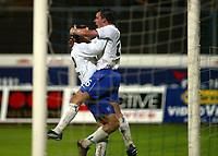 Fotball, 3. oktober 2002. Stavanger Stadion,  Viking - Chelsea. John Terry, Chelsea 3 goal.