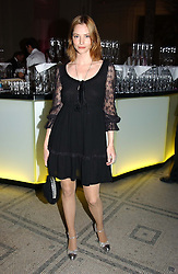 Actress SIENNA GUILLORY at the 2004 British Fashion Awards held at Thhe V&A museum, London on 2nd November 2004.<br />