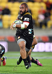 Chiefs Karl Tu'inukuafe against the Hurricanes in the Super Rugby match at Westpac Stadium, Napier, New Zealand, Friday, April 13, 2018. Credit:SNPA / Ross Setford