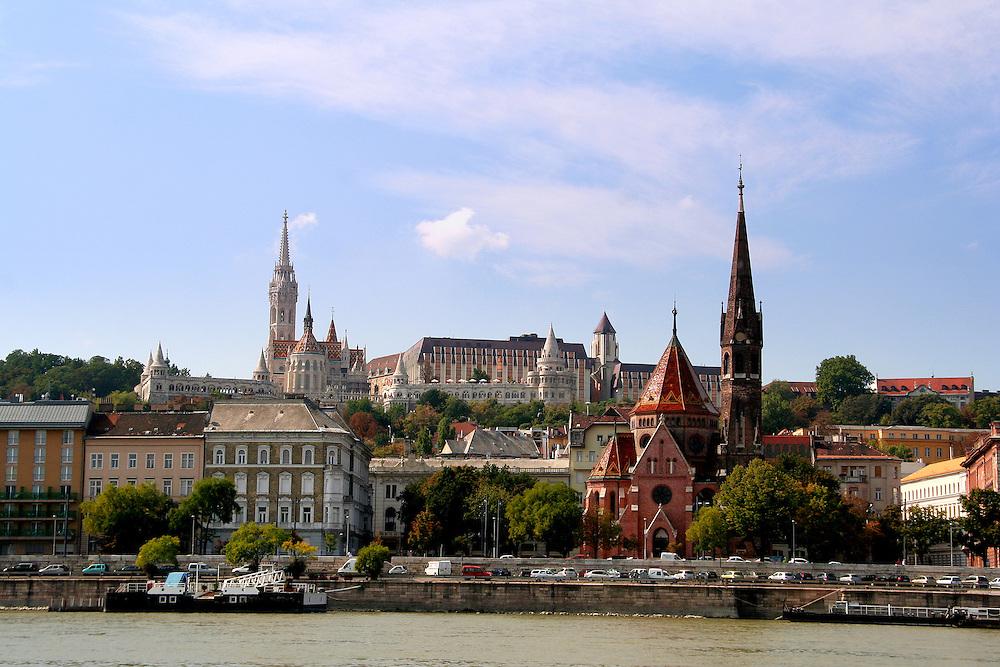 Castle Hill ( Várhegy), Budapest, Hungary