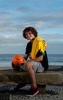 Fifa Brazil 2013 Confederation Cup / <br /> Brazil National Team - ( Sao Conrado Beach - Rio de Janeiro , Brazil ) -<br /> David Luiz , player of Brazil - Interview