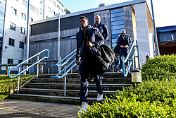 Marcus Delpeche of Bristol Flyers arrives at London Lions - Photo mandatory by-line: Robbie Stephenson/JMP - 10/04/2019 - BASKETBALL - UEL Sports Dock - London, England - London Lions v Bristol Flyers - British Basketball League Championship