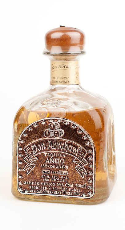 Don Abraham anejo -- Image originally appeared in the Tequila Matchmaker: http://tequilamatchmaker.com